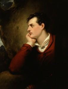 NPG 4243; George Gordon Byron, 6th Baron Byron by Richard Westall