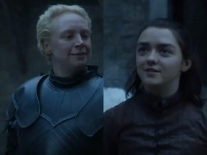 Brienne and Arya