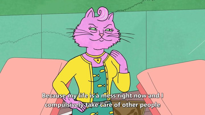 bojack horseman princess carolyn