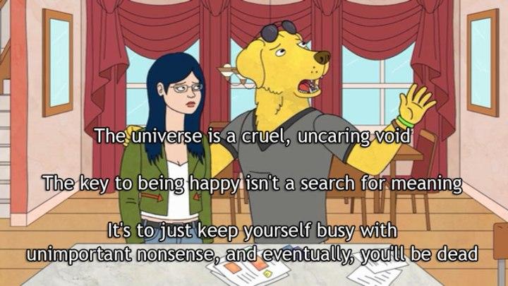 peanutbutter universe quote